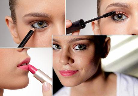 Três passos para transformar uma maquiagem básica em algo, assim… Glamuroso!