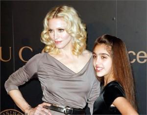 Poder dividir roupas com a mãe é tudo de bom! Ainda mais se sua mãe for a Madonna…