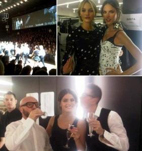Tudo ao vivo! Dolce & Gabbana mostrou tudo no desfile em Milão