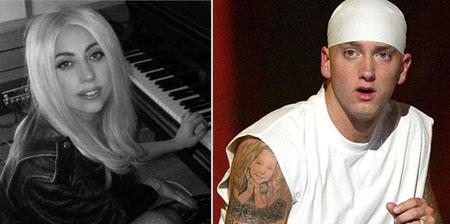 Lady Gaga and Eminem: new number 1 on Facebook