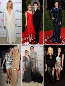 As after parties dos Oscars foram um burburinho que só. Destaque para o vestido megatrasnparente de Madonna na da VF