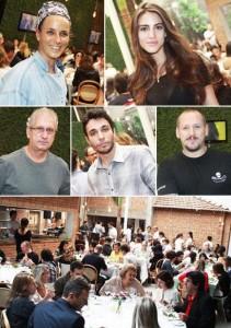 A marca Morena Rosa pilotou almoço para lançar a campanha de inverno 2011 e Glamurama foi lá conferir