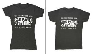 Alice Braga, @cadieckmann, Alinne Moraes, Cristine Fernandes e Eriberto Leão vestirão a camisa da amFar!