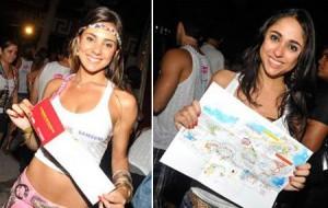Pra não se perder e até pra encontrar um lugar p/ relaxar, a Nextel preparou um guia indispensável p/ o Carnaval 2011 de Salvador