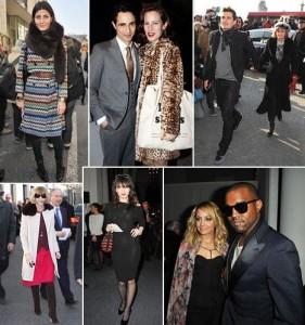 Charlotte Dellal, Kanye West, Anna Wintour, Orlando Bloom e muito mais na Semana de Moda de Paris!