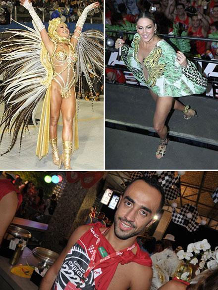 Sabrina Sato, Claudia Leitte e Yan Acioli: carnaval a mil
