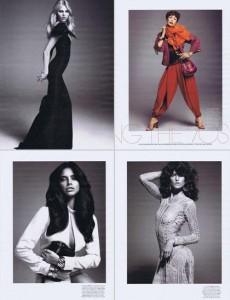 Quatro modelos brasileiras estão na edição de março da revista W. Sabe quem são elas?