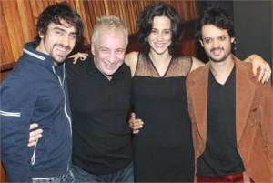 """Glamurama foi na estreia de """"Pterodátilos"""". A interpretação do Nanini está sensacional…"""