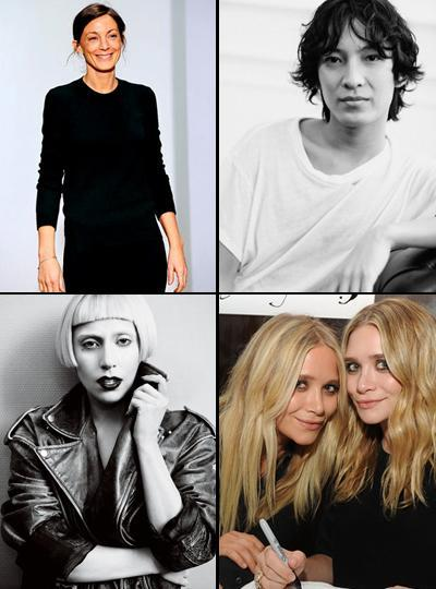Phoebe Philo, Alexander Wang, Lady Gaga, Mary-Kate and Ashley Olsen: nominated for the 2011 CFDA