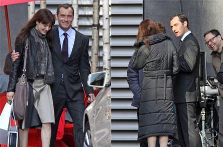 "Rachel Weisz, Jude Law and Fernando Meirelles: on the set of ""360"""