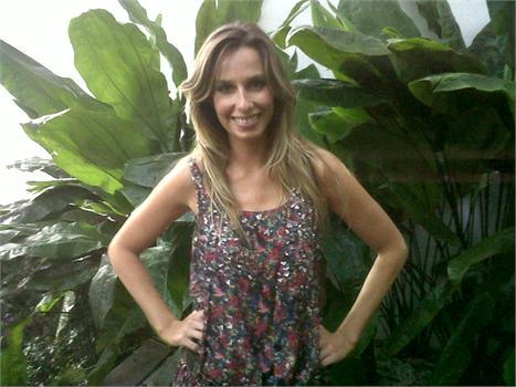 """Mariana Weickert: gravação do programa """"Vamos Combinar?"""" na Casa Glamurama!"""