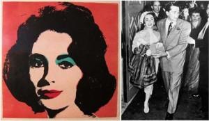 É louca a procura por obras que retraram Elizabeth Taylor… e a gente sabe o caminho