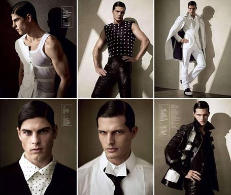 """Evandro Soldati e Diego Miguel: modelos brasileiros na edição de abril da """"GQ"""" russa"""