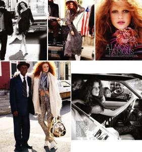 E a Cintia Dicker arrasando na Marie Claire australiana? Temos fotos!!