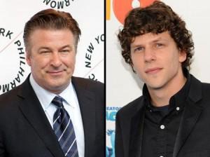 Alec Baldwin e Jesse Eisenberg foram recrutados por Woody Allen. Tem como negar?