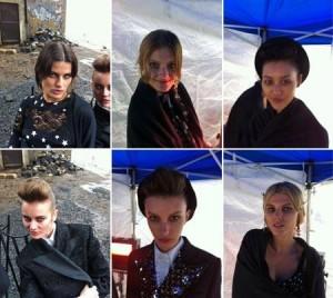 A gente já sabe que @isabelifontana1 fotografou a campanha de inverno 2011 da Dolce & Gabbana…