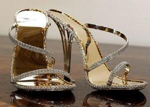 você pagaria 360 mil reais por um sapato, glamurette?