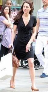 Kate Middleton foi às compras em Londres