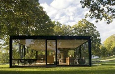 Glass House, de Philip Johnson: arquitetura moderna em Connecticut