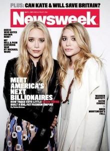 As gêmeas Olsen estão estampando capas de revistas, e não é de moda não!