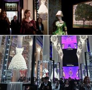 Exposição de alta-costura da Dior, lá no museu Pushkin, na Rússia. Gente, tá mto bafo…
