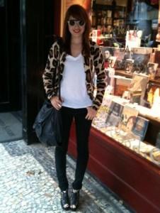 O #lookdodia de hoje é da Marina Franco! E repare só nos óculos dela!