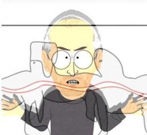 E o Steve Jobs que virou um cientista maluco, hein? Já viram, glamurette?