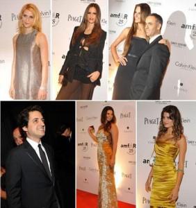 Muitos looks incriveis no jantar da amfAR! Tem Calvin Klein, Givenchy, Issa e muito mais!