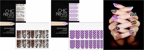 Sephora + O.P.I: adesivos estampados para as unhas!