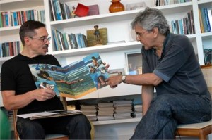 "Programa ""tem q ver"" de hj! Caetano Veloso no Som do Vinil, do Canal Brasil"