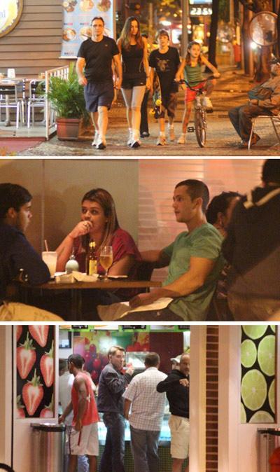 Herson Capri com a família, Preta Gil no Sushi Leblon e Eike Batista: finzinho de domingo