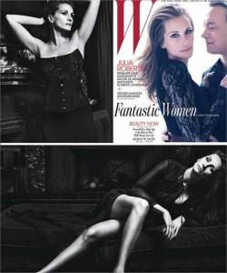 """Julia Roberts e Tom Hanks estão juntos na capa da revista """"W"""" de junho!"""
