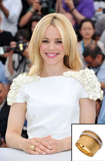 Rachel McAdams: joias brasileira em Cannes