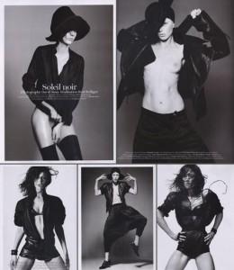 """Raquel Zimmermann fotografou mais uma vez p/ a """"Vogue"""" Paris!"""