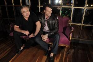 Sig Bergamin e Murilo Lomas recebem uma turma mais do que ótima para jantar hoje… Glamurama vai