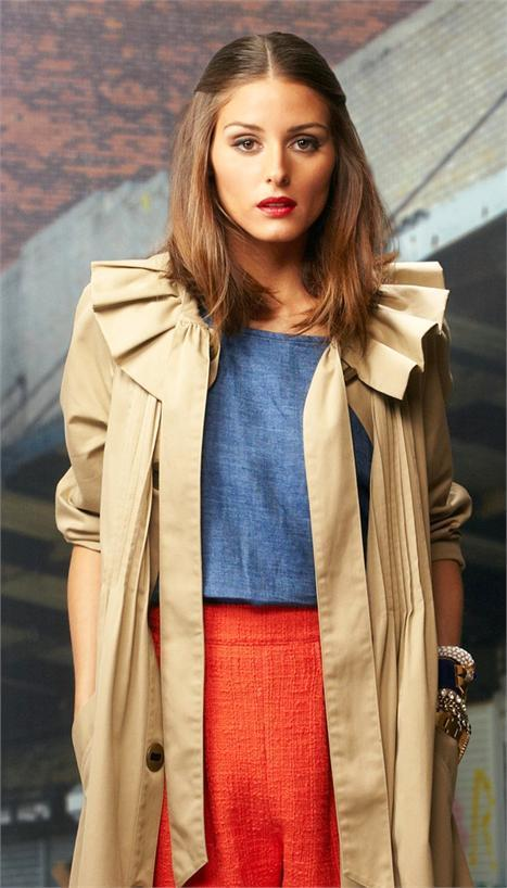 Olivia Palermo: confirmed for the summer 2012 Coca-Cola Clothing fashion show