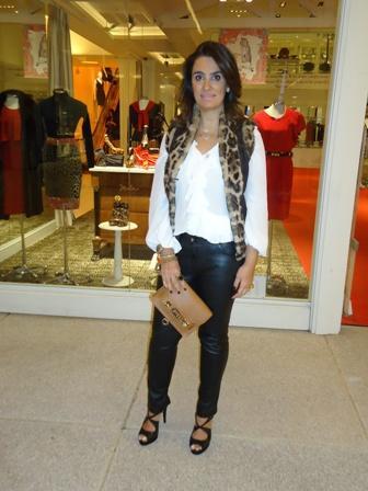 Claudia Auricchio Braido: couro e pele ecológica para se manter aquecida