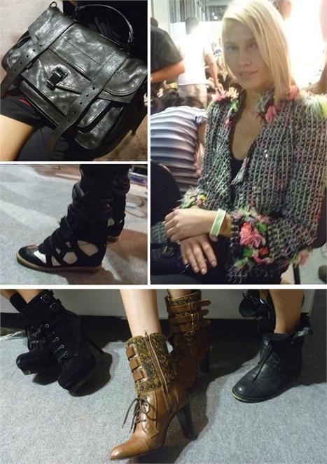 Bolsa PS 11, da Proenza Shouler, bota Isabel Marant, o casaco Marc Jacobs de Aline Weber e as botas Opening Ceremony: garimpo fashion!