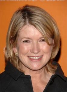 A rainha das donas de casa, Martha Stewart, vende tudo!