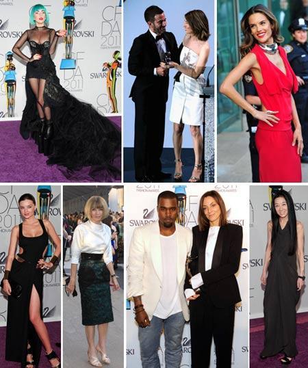 Lady Gaga, Marc Jacobs e Sofia Coppola, Alessandra Ambrosio, Miranda Kerr, Anna Wintour, Kanye West com Phoebe Philo e Vera Wang: noite de premiação em Nova York!
