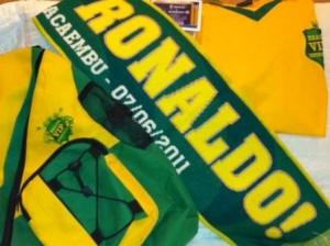Glamurama viu o kit que os supervips ganharam para assistir ao jogo de despedida de Ronaldo!