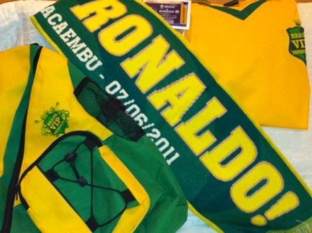 Despedida de Ronaldo: kit de sobrevivência!
