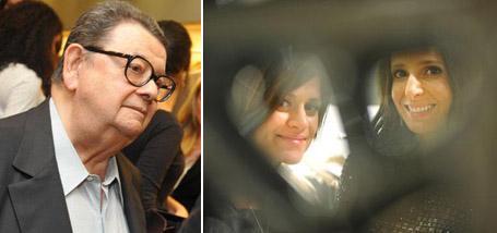 Antonio Delfim Netto, Giuliana Romano e Fabiana Delfim: lançamento em família