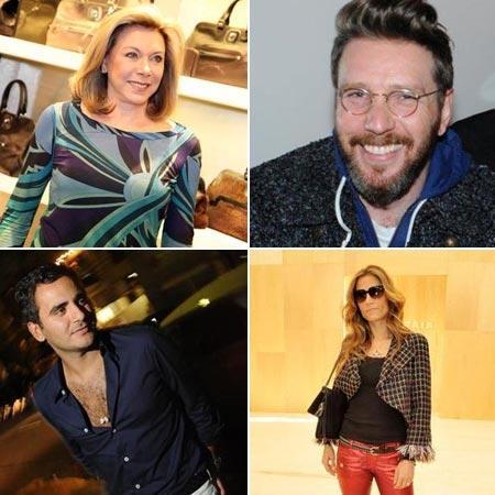 Tania Wagner, Alexandre Herchcovitch, Sergio K. e Carola Diniz: dias de descanso