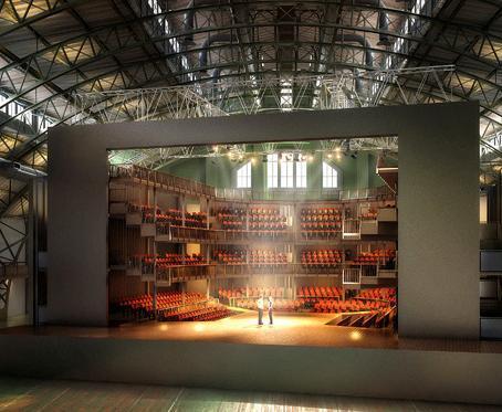 Park Avenue: replica do Globe Theater
