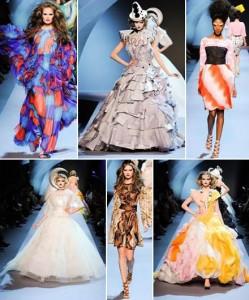 A temporada de alta costura francesas começou. Já temos imagens do desfile da Dior!!