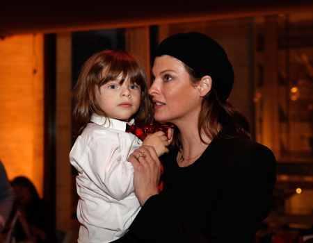 Linda Evangelista and son, Augustin: paternity revealed