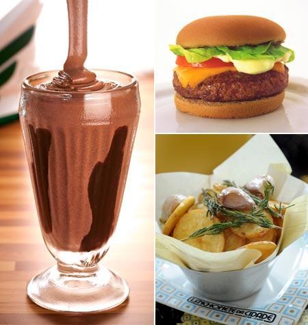 Milk-shake do America, hambúrguer do Achapa e batatas da Lanchonete da Cidade: happy hour inspirado no Independence Day!