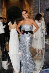 Viram o vestido que Andrea Dellal usou no White Fairy Tale Love Ball?