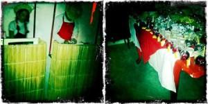 A gente está em clima de festa junina!!! Festinha típica aqui na Casa Glamurama! Eeee, trem bão!